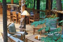 Log Home Outdoor Kitchens / Explore log home outdoor kitchens.