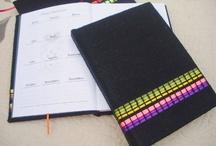 | Bitacoras Personales | / Bitácoras con tapas duras forradas con telas artesanales. Cuadernos de vida, para asentar vivencias, viajes, y sueños por cumplir :) / by makikuna