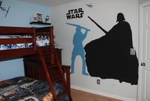 Miles' Star Wars Room / by Karen Huyler