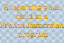 French Immersion - Support for Parents