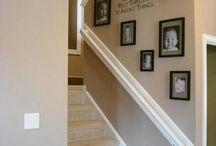 Hallway ideas / Stairways etc