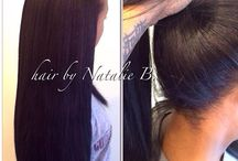 Weaves/Sew In/Wigs / by Marie M