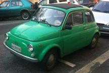500 on the road / Vecchie Fiat 500