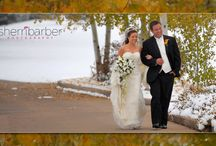 Fall Weddings / Fall weddings are beautiful with the changing of the trees and early snow.