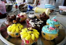 Cupcakes / Our favourite. Cupcakes we baked with our students at our classes and some that we made for Orders.