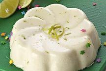 gelatina limón cremosa