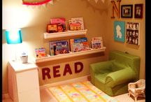 Kids Reading Nook & Playrooms