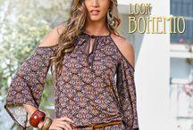 Look Bohemio / Moda para mujeres bohemias Bohochick, bohostyle