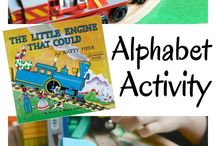 Toddler trains / Train theme activities for toddlers