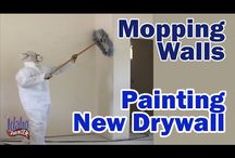 House Painting Tutorials / Tips painting walls and ceilings in a new home.  5 part painting series painting new dry wall or sheet rock. / by The Idaho Painter