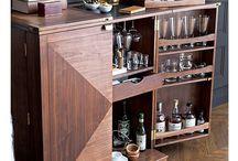 Мебель шкаф-бар