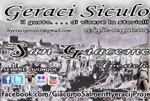 Geraci Siculo / Hyeracij Project l'account dedito x pubblicizzare GERACI SICULO!! Niente come la foto, riesce a raccontare con emozione e sincerità le meraviglie del luogo, l'architettura e gli spazi abitati, la natura, le tradizioni, gli abitanti e i loro mestieri, il paesaggio e l'ambiente, in una parola a raccontare Geraci e i luoghi che ci circondano. www.hyeracijproject.it