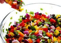 Rainbow Salsa / Various Vegetables & Mangoes