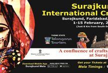 Celebration Of Surajkundmela 2016 / How we celebrate the surajkundcraftsmela. Stay tunned with us for more updates.