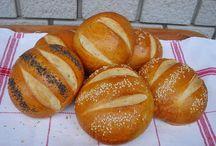kenyér, péksütemény, sós rágcsa