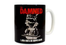 Well I'll be.... / The Damned told us to Smash It Up! But who would want to smash up any of this storied merchandise? Instead choose from our incredible mug designs, you'll be spoilt for choice which to have your morning coffee in for breakfast! Or if you really can't decide narrow it down to your all-time favourite The Damned album or song and pick the corresponding cup.