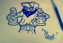 BookGraffiti / Português: Sou o ruben, gosto muito de graffitar, apesar de so fazer em papel, pois não tenho nenhum sitio em quem possa faze.lo sem ser ilegal. Inglês: I'm Ruben, I love graffiti, despite doing so on paper, not because I have nowhere else in who can do it without being illegal