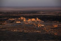 Syrie millénaire / Sites anciens et paysages de Syrie : Palmyre : la cité de la reine Zénobie également appelée Tadmor, Alep et ses souks millénaires, Hama et ses norias, la basilique de Saint-Siméon (Qala'at Samaan), Maaloula et Damas