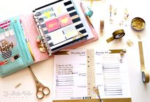 Organizing My Life / Organization tips, planners and printables.  / by Donella Crigger @ WifeMomGeek.com