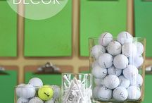 golf decor / by Barbara Stamper
