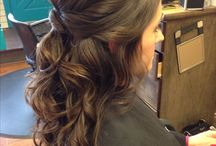 wedding hair/make up / by Katy Lee