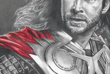 Drawings of Marvel