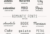 Typefaces / by Muay