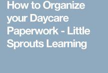 Organize daycare