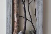 Birches in frame