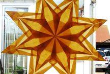 Papír csillagok, Papier Sterne, Paper stars