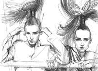 Pencil Illustrations / Pencil Drawings