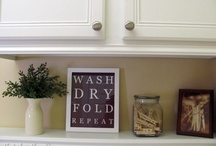 Laundry room / by Jolene T