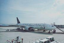 トリプルセブン。格好良い。 It's bowing 777(-200) who named triple seven in All Nippon Airways (ANA). I think it have good shape. #aviation #airplane #airport #飛行機 #飛行場 #b777写真