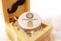 Moustache Wax by Sweyn Forkbeard / Our Moustache Wax has been crafted to be easy to apply and at the same time provides a firm hold. Our wax can be applied both lightly to provide hold for open more natural moustache styles such as Hungarian, or more heavily for tight styles such as English and Dali.  www.sweynforkbeard.co.uk