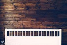 drewniana sciana