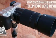 Sony 55-210mm f/4.5-6.3 Telephoto Lens for Sony E-Mount