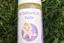 Organic vegan baby shampoo