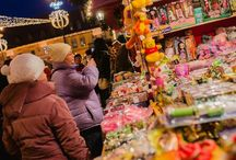Târgul de Crăciun Sibiu 2014 - Golden Weekend / Organizat de Asociația Events For Tourism și cofinanțat de Consiliul Local Sibiu prin Primăria Municipiului Sibiu Foto: targuldecraciun.ro