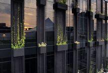 external vertical gardens