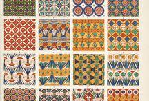 Dekorativa mönster