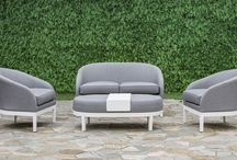 Fabric Garden Furniture / Check out the new collection of fabric garden furniture.