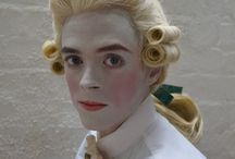 18th Century Makeup and hair