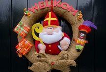 Sinterklaas decoraties