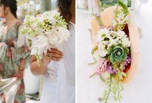 Bouquet and wedding deco
