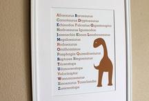 dinosaur stuff / by Christine Nguyen