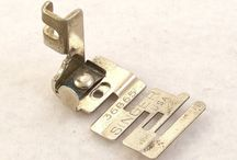 Vintage Sewing Machine Feet, Attachments / by Rebecca's Vintage Salon