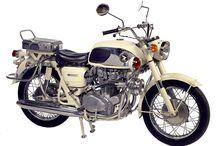 Classic Honda bikes