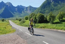 Norway / A collection of pins from Saddle Skedaddle's cycling holidays in Norway