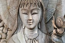 Kuan Yin / To learn more about your goddess connection, do check out my Goddess Guidance Group - BASIC membership is FREE!! http://www.amypalko.com/project/goddess-guidance/