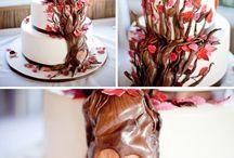 Cakes - wedding